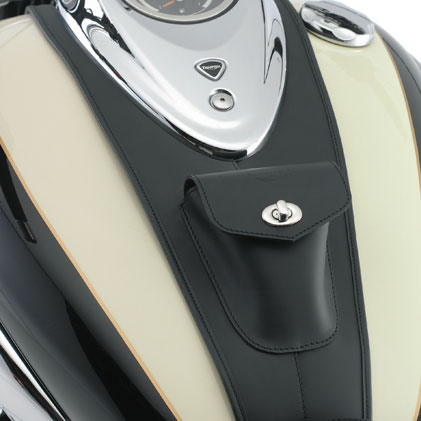 moto rocket-iii-touring leather-f-tank-panel,-plain