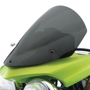 moto street-triple flyscreen-visor-kit,-smoke