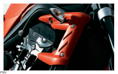 moto street-triple rad-cowl-kit,-diablo-red