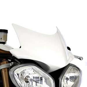 moto street-triple flyscreen-kit,-pht-black