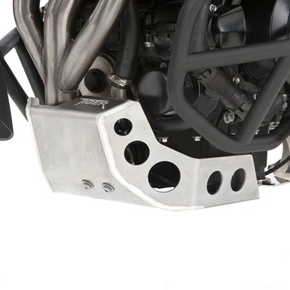moto tiger-800 alloy-sump-guard