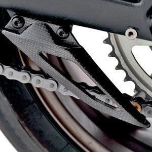 moto daytona-675-y-r lower-chain-guard,-carbon