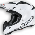 moto cascos airoh aviator-junior-white-perl