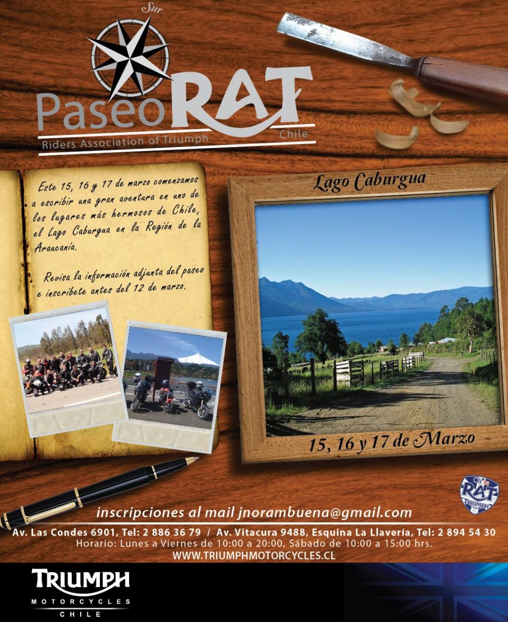 1er Paseo RAT - Lago Caburgua - 9na Región Araucanía