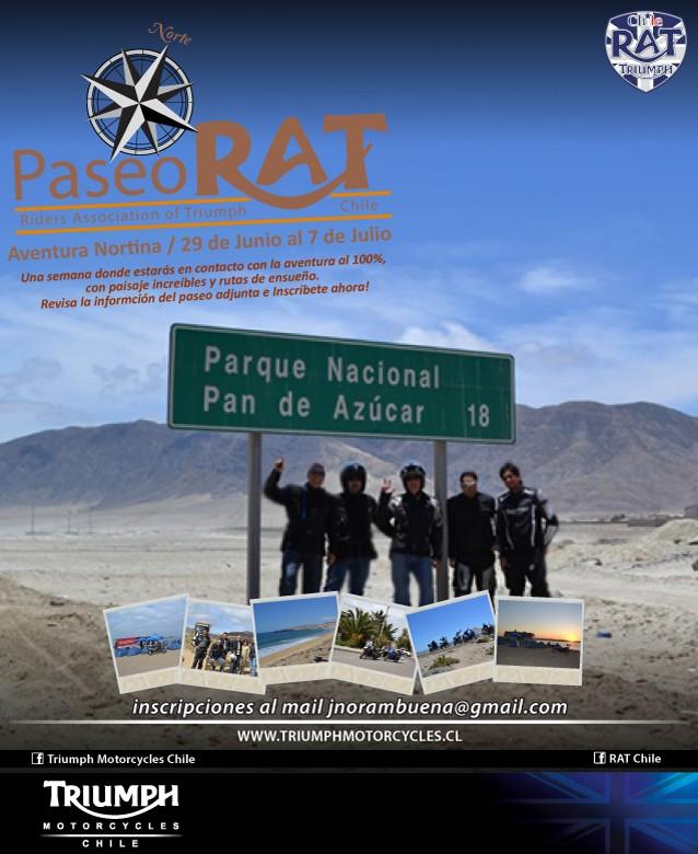 Paseo RAT al Norte de Chile del 29 de junio al 7 de julio