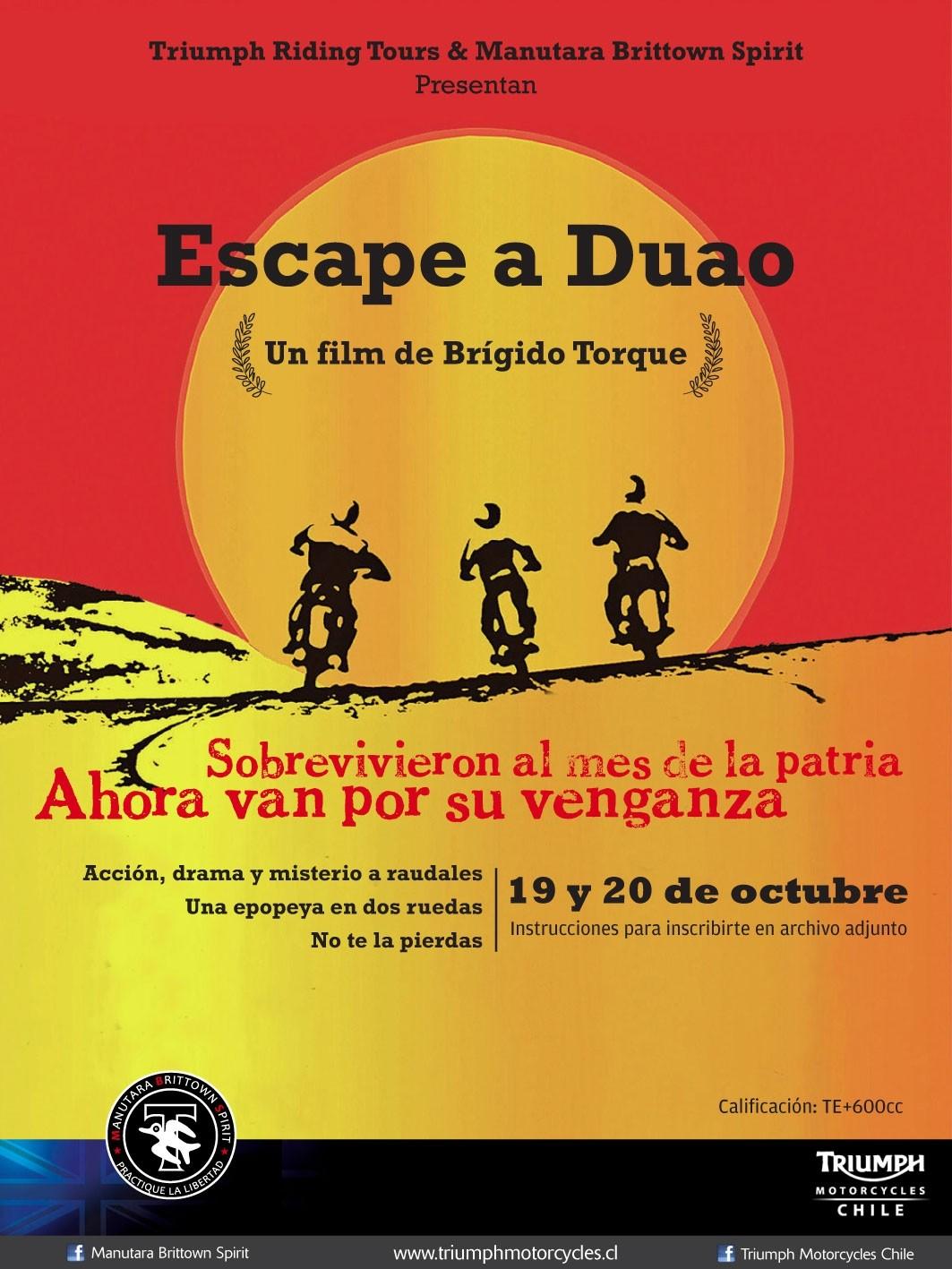 Escape a Duao el 19 y 20 de Octubre