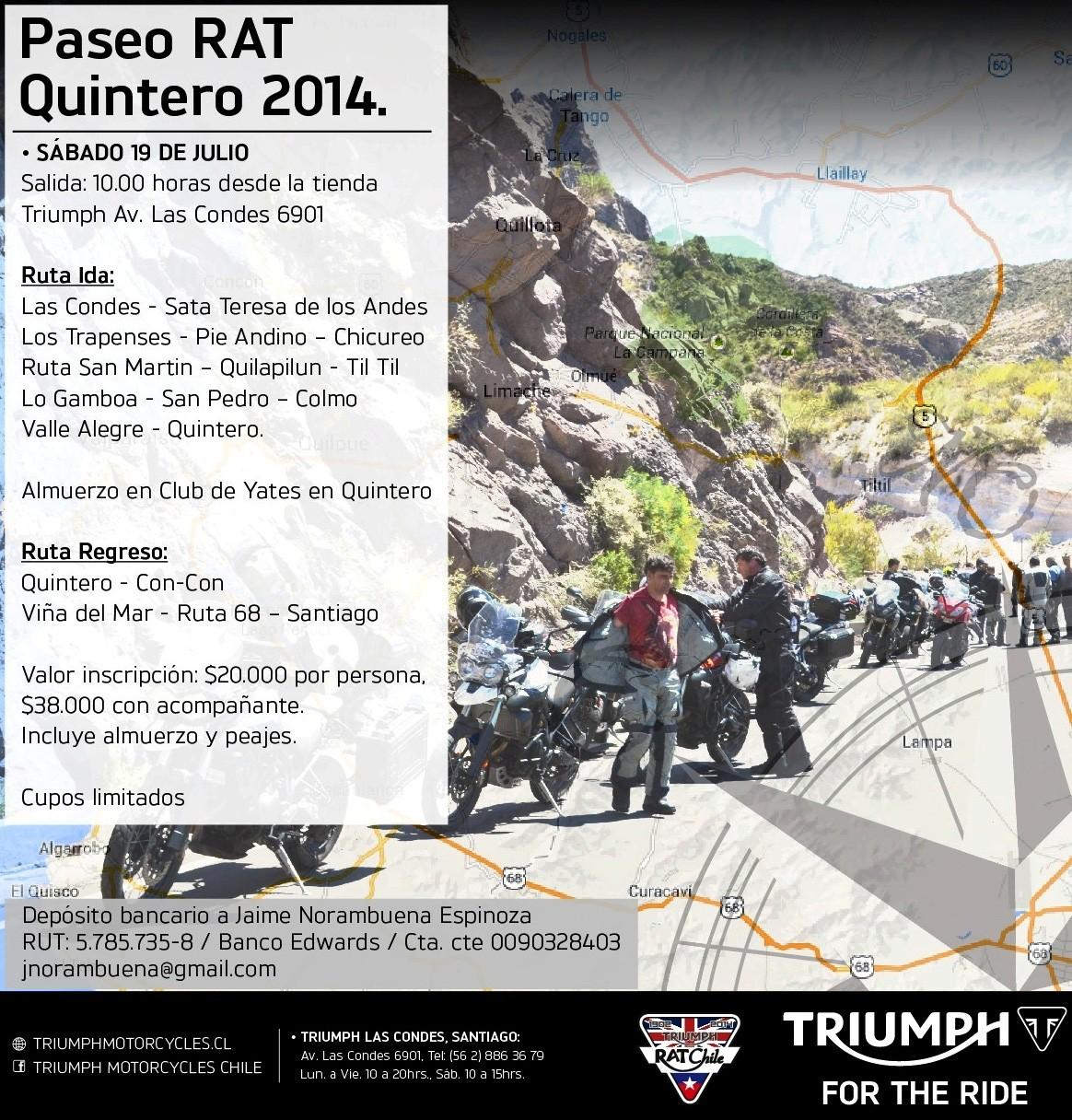 Paseo RAT - Quintero 2014
