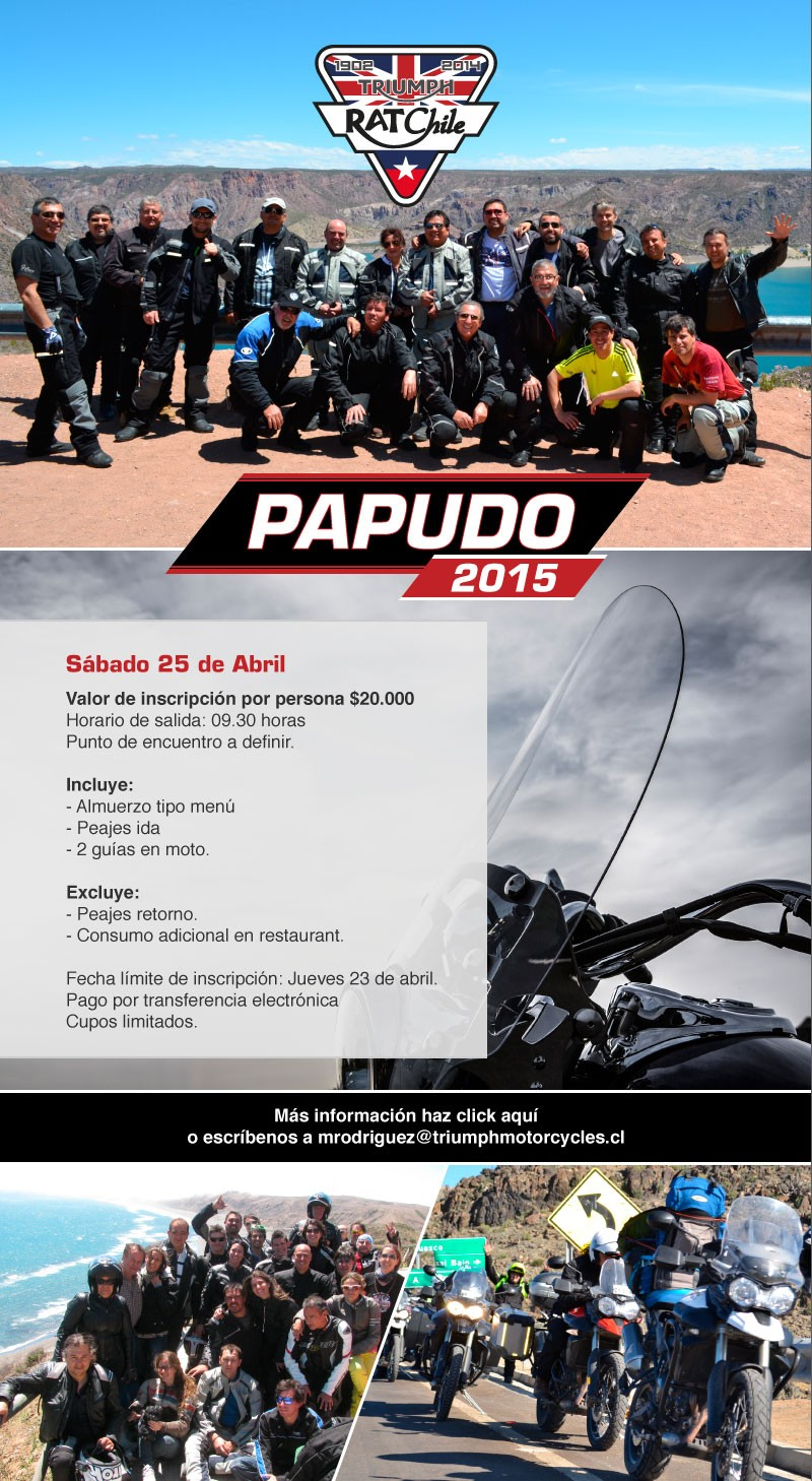 Paseo Triumph RAT Papudo 2015
