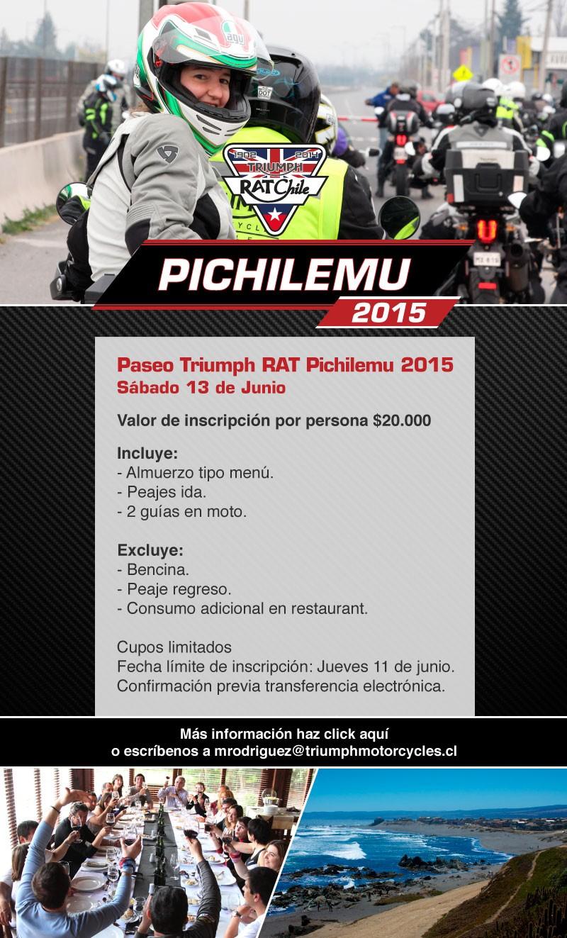 Paseo Triumph RAT Pichilemu 2015