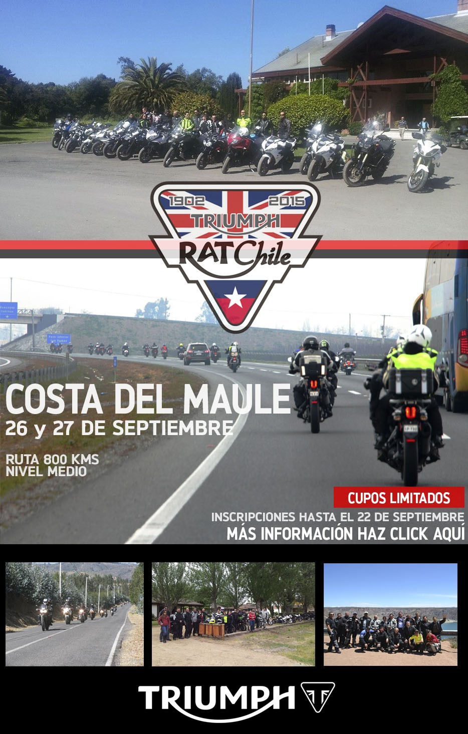 Tour Triumph RAT Costa del Maule 2015