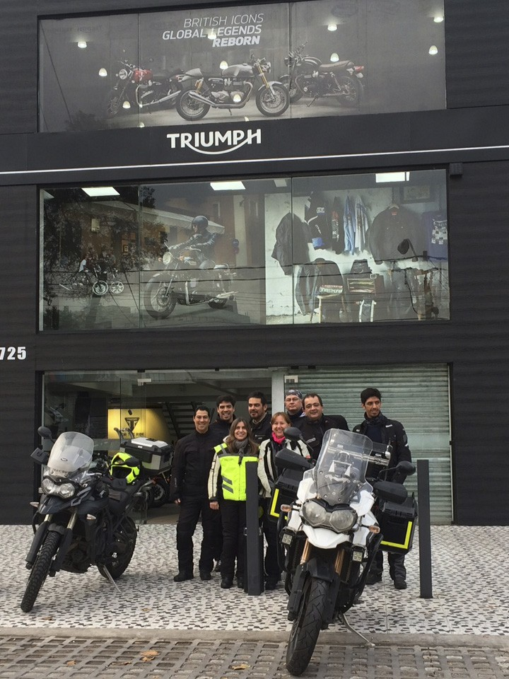 Triumph Breakfast and Ride Pichilemu 2016