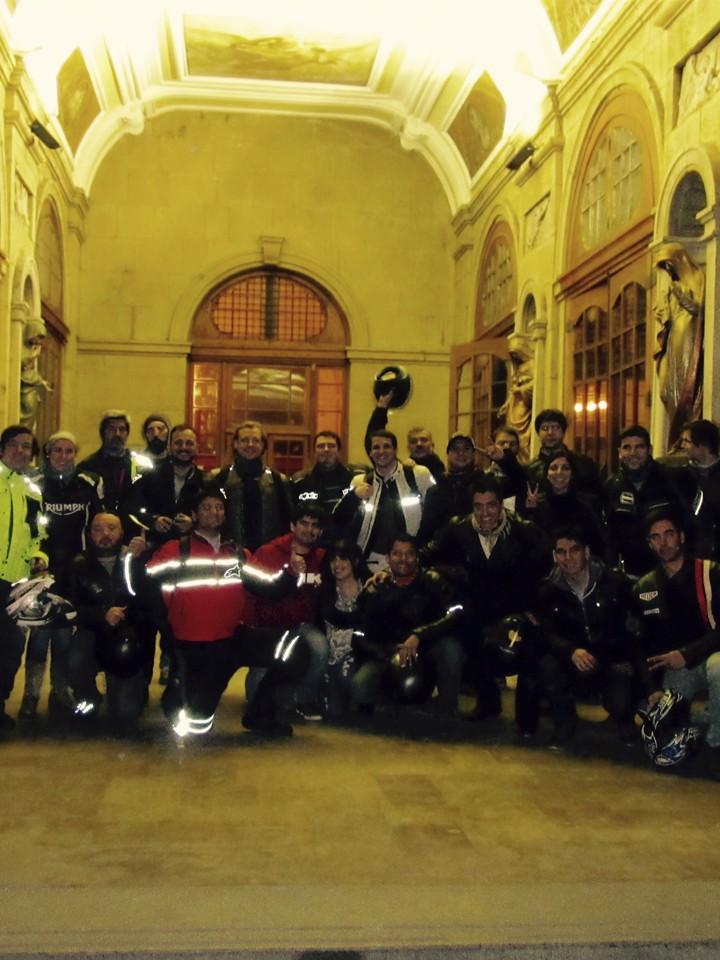 Triumph Night Ride Santiago Histórico 2016