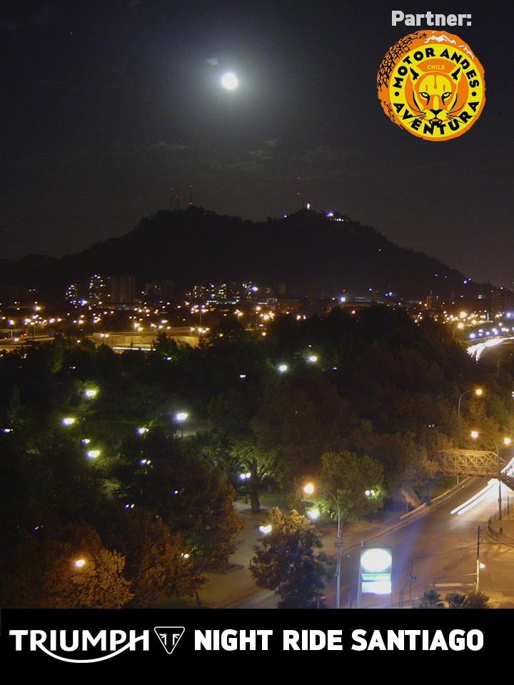 Night Ride Santiago