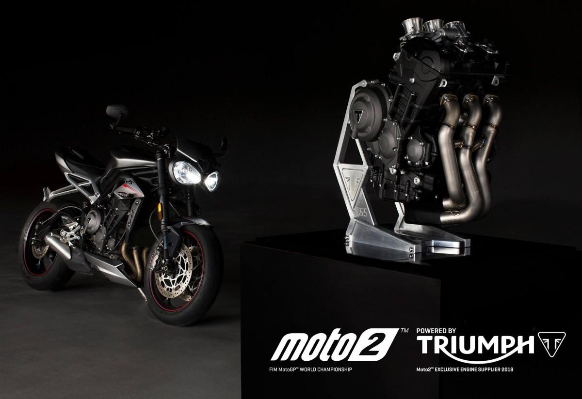 Nuevo motor 765cc de Triumph impulsará el mundial Moto2