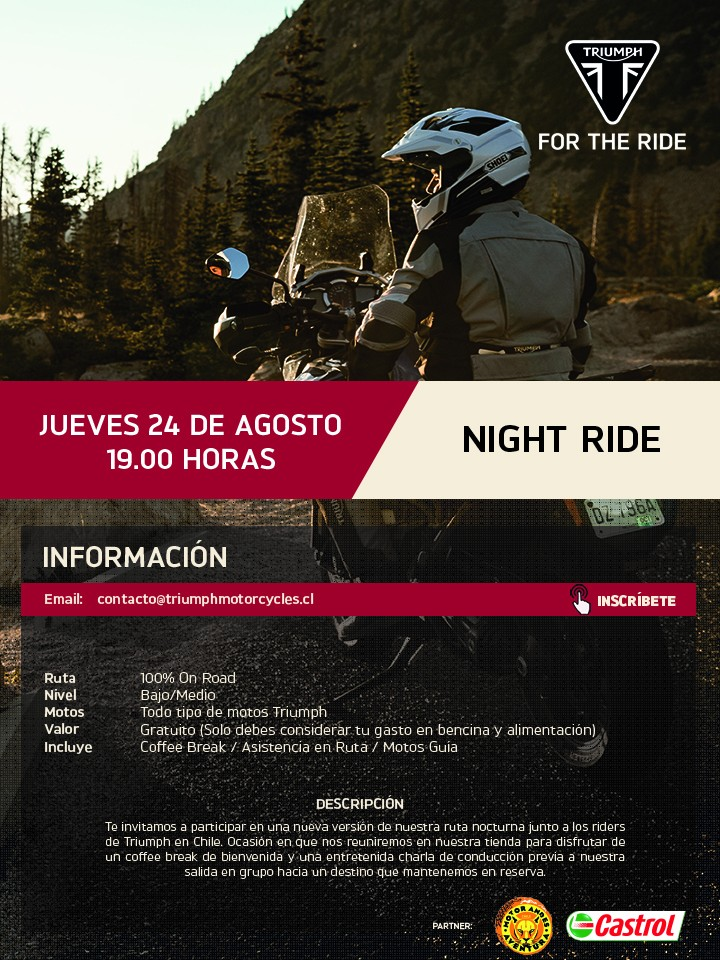 Triumph Night Ride