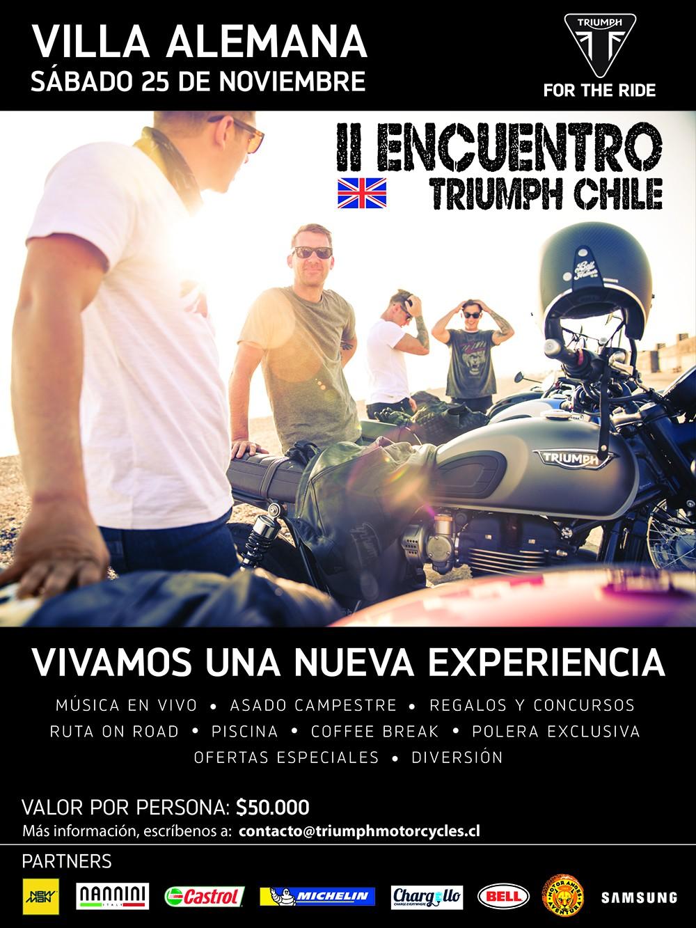 II ENCUENTRO TRIUMPH CHILE