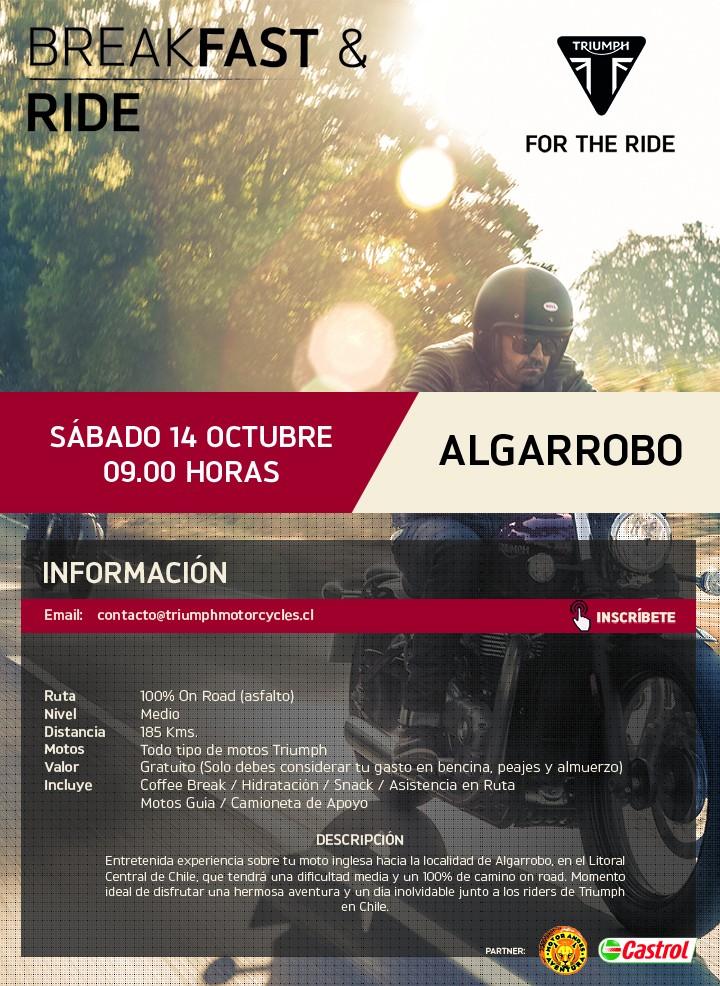Breakfast & Ride Algarrobo