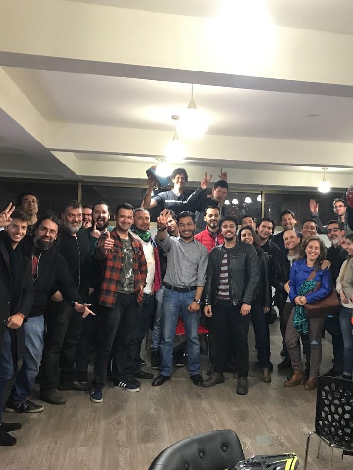 Reunión Previa Triumph DGR Chile 2017