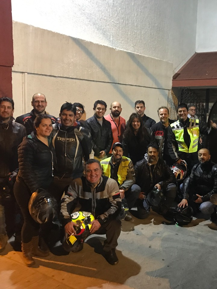 Triumph Night Ride Ñuñoa