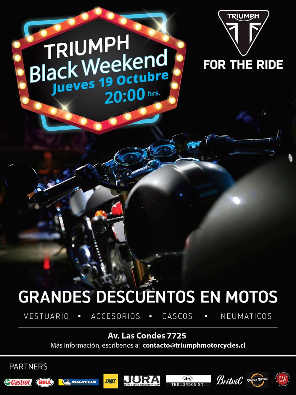 Triumph Black Weekend 2017