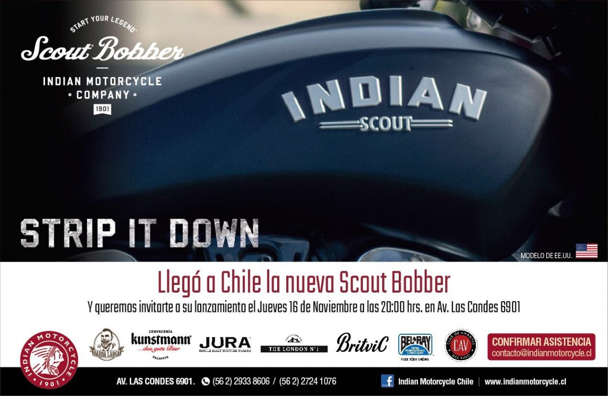 LANZAMIENTO SCOUT BOBBER