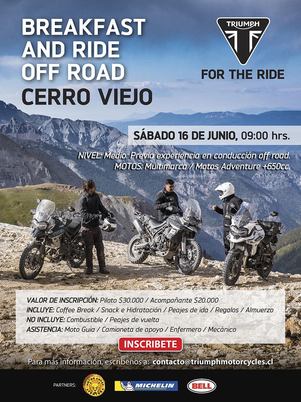 Breakfast and Ride Off Road Cerro Viejo