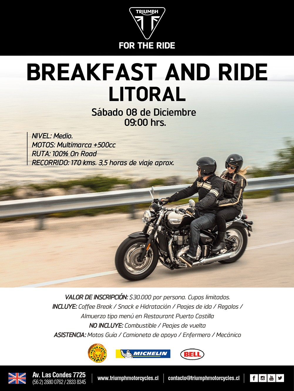Breakfast and Ride Litoral