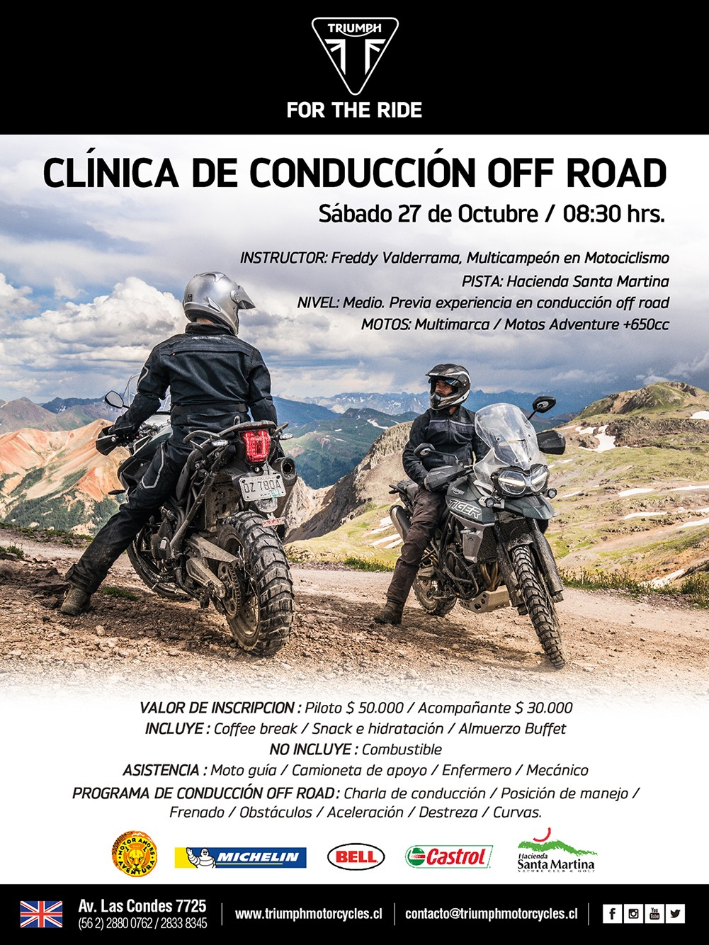 Clínica de Conducción Off Road Multimarca