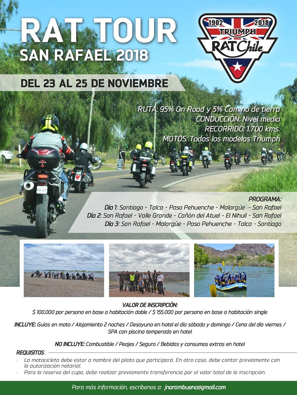 RAT Tour San Rafael 2018