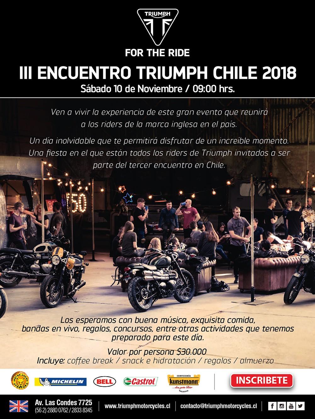 III Encuentro Triumph Chile 2018