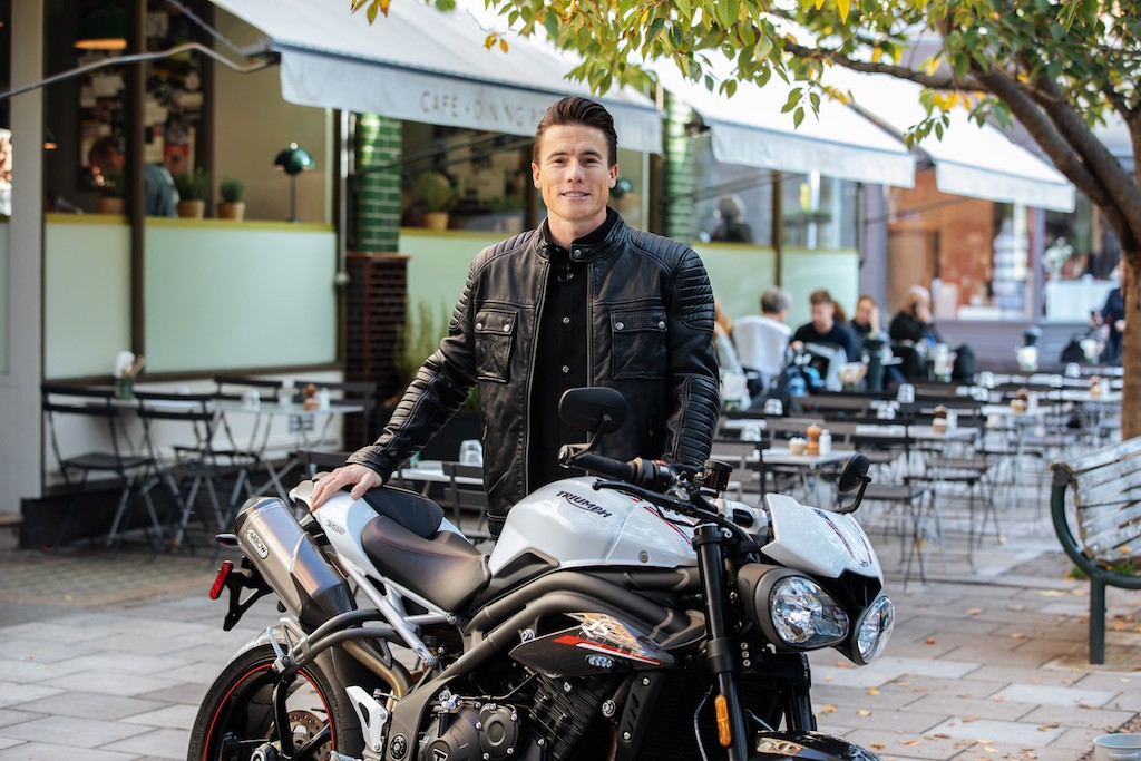 James Toseland es el nuevo embajador global de Triumph Motorcycles