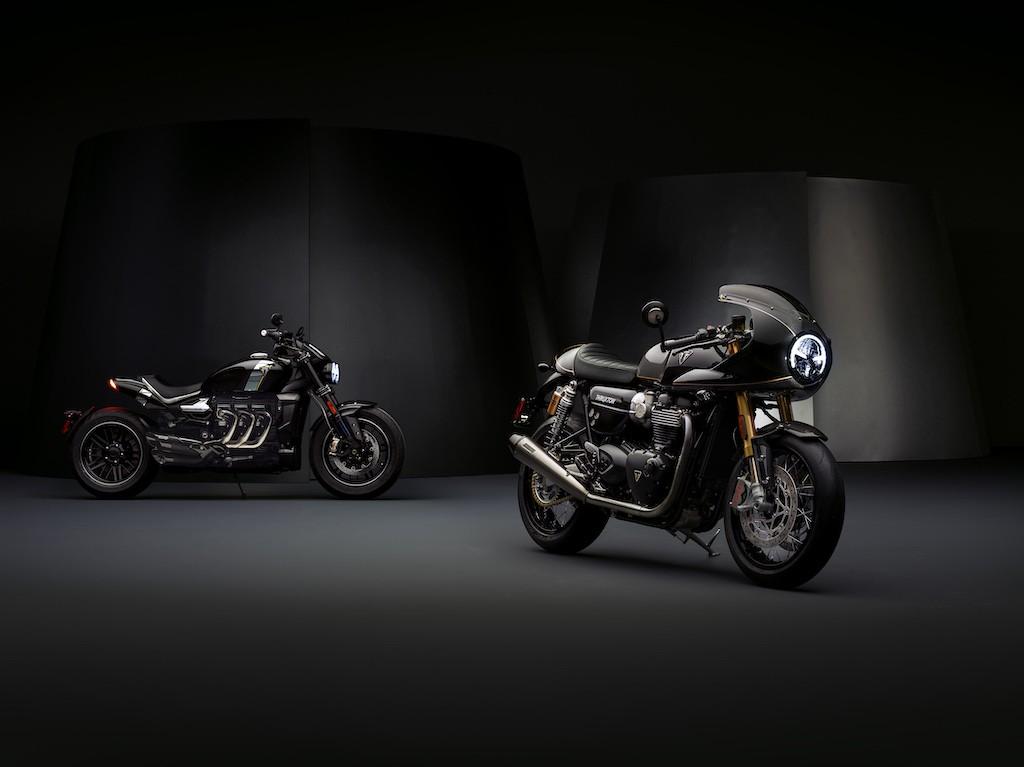 Thruxton de edición limitada inaugura línea premium de Triumph Motorcycles