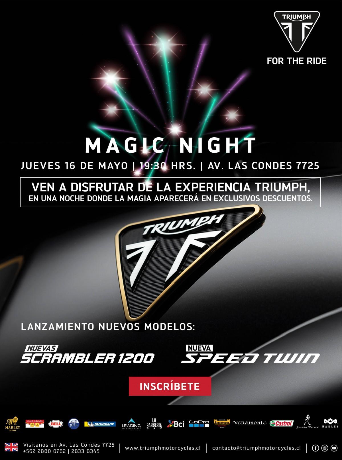 Triumph Magic Night 2019