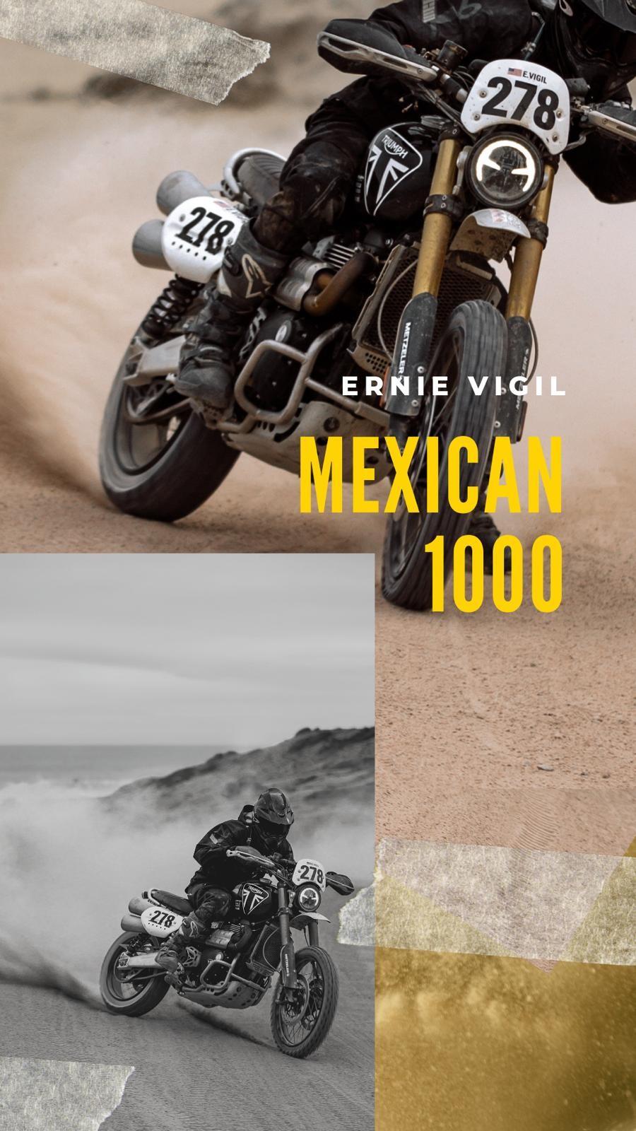 La nueva Scrambler 1200 XE destacó en el Mexican 1000