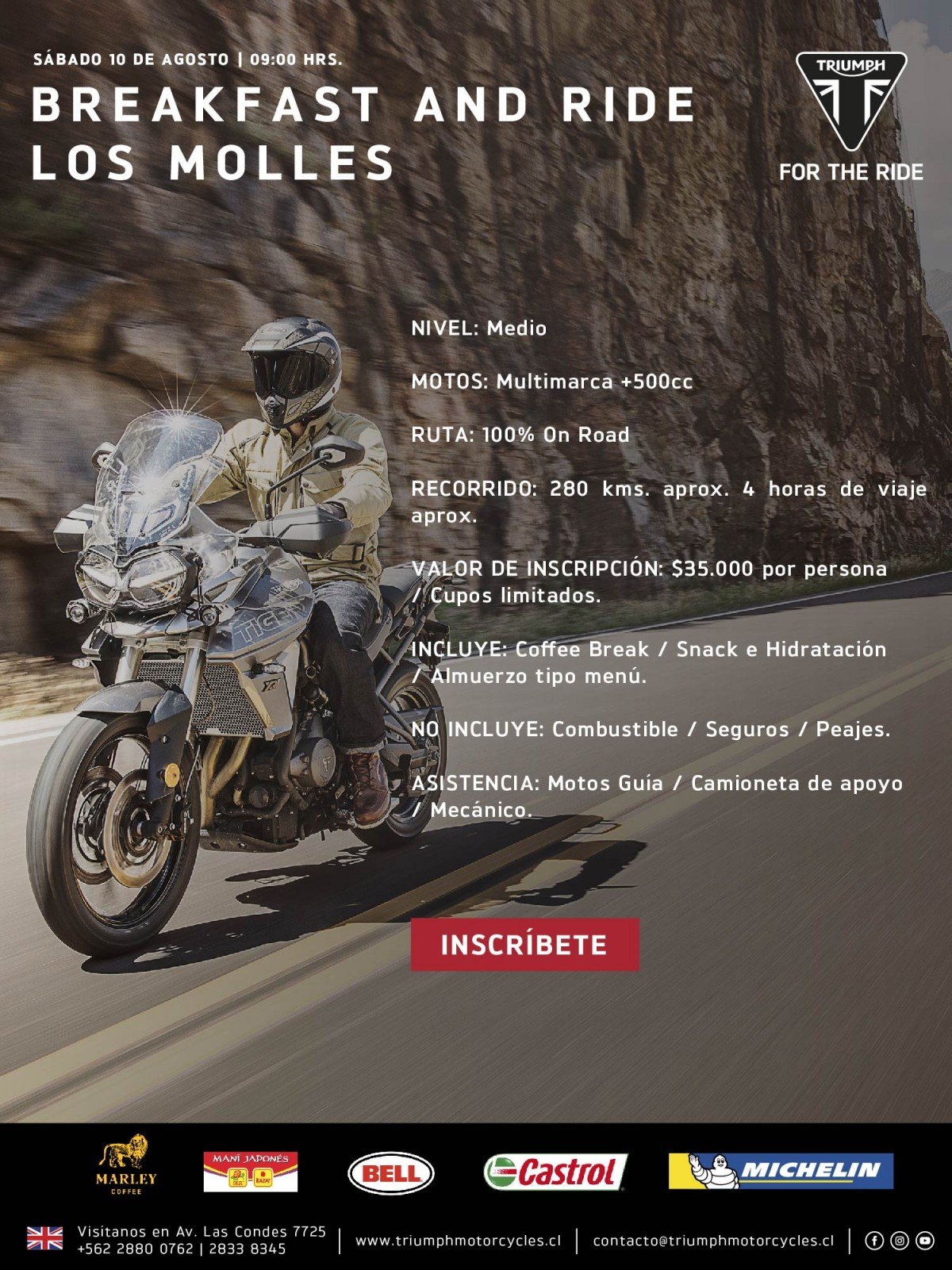 Breakfast and Ride Los Molles