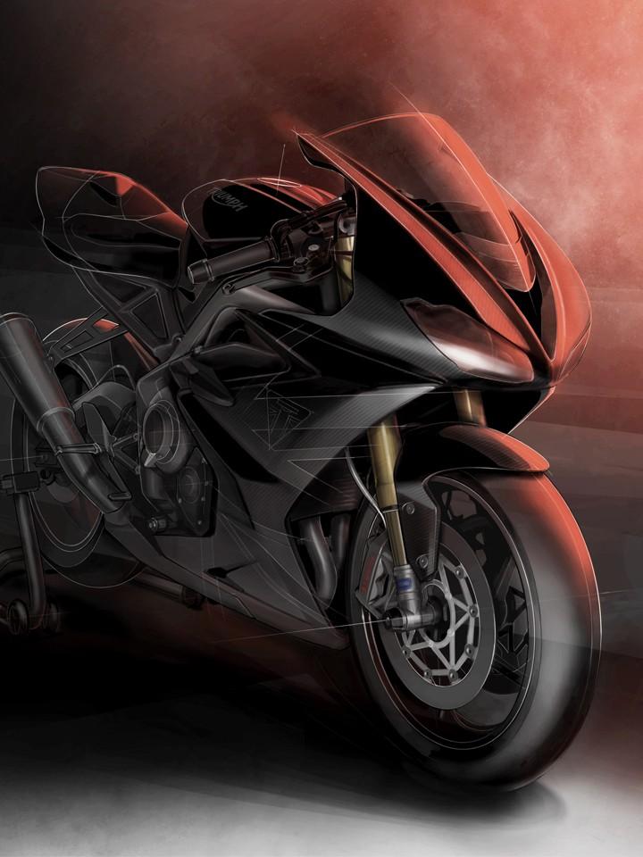 Triumph anuncia edición exclusiva  Moto2 de la Daytona