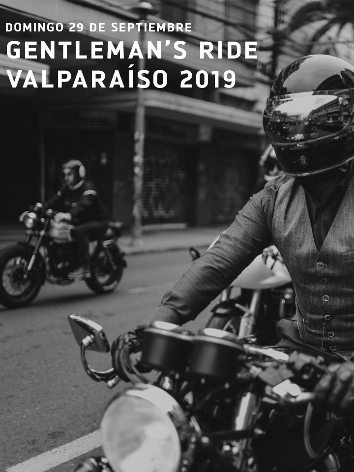 Distinguished Gentlemans Ride Valparaíso 2019
