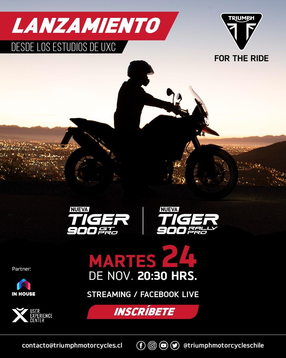 Lanzamiento Nueva Tiger 900