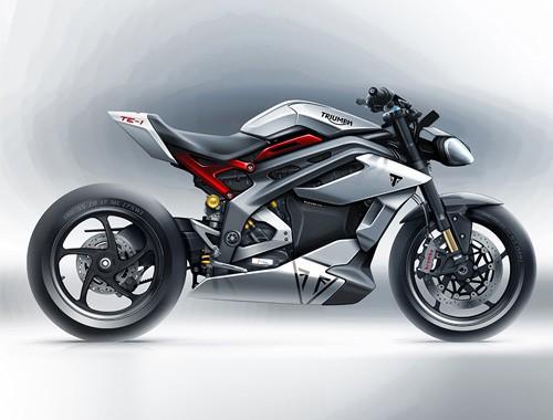 Triumph Motorcycles define motor, baterías y diseño de su primera moto eléctrica