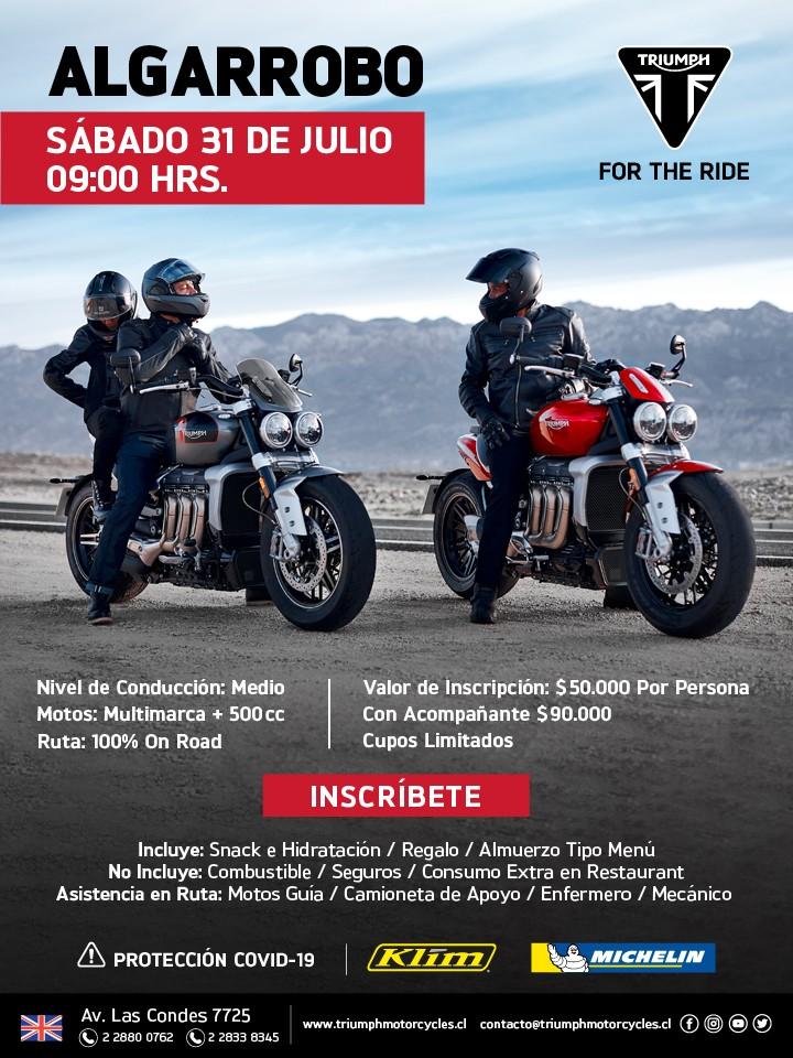 Triumph Ride Algarrobo
