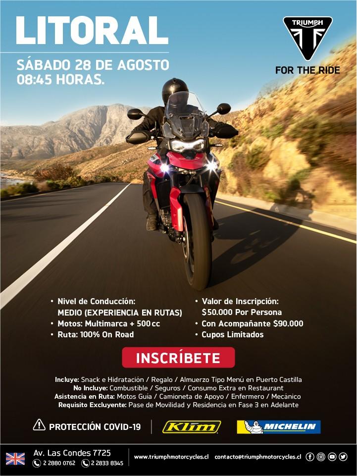 Ride Triumph a la Costa