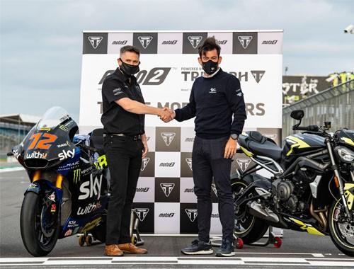 Triumph Motorcycles renueva por 3 años con Moto2