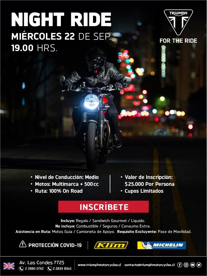 Triumph Night Ride