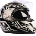 moto cascos airoh force-speedway-black